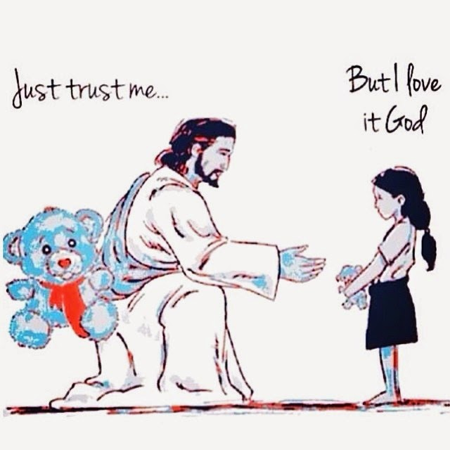Jesus will give you better if you trust him